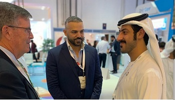 Members of the Children's National Hospital team who attended the Arab Health 2020 Conference in Dubai were honored to meet His Highness, Sheikh Theyab bin Khalifa bin Sultan bin Shakhboot.